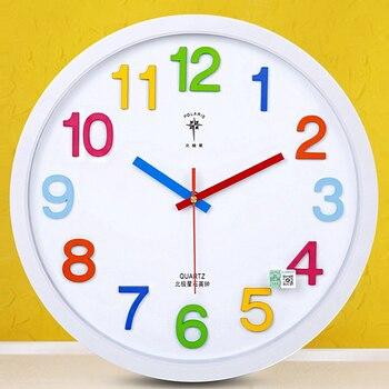 Creative Wall Clock Modern Design Large Decorative  Metal Wall Decorations Living Room  Reloj Pared Madera Gift Ideas Bb50