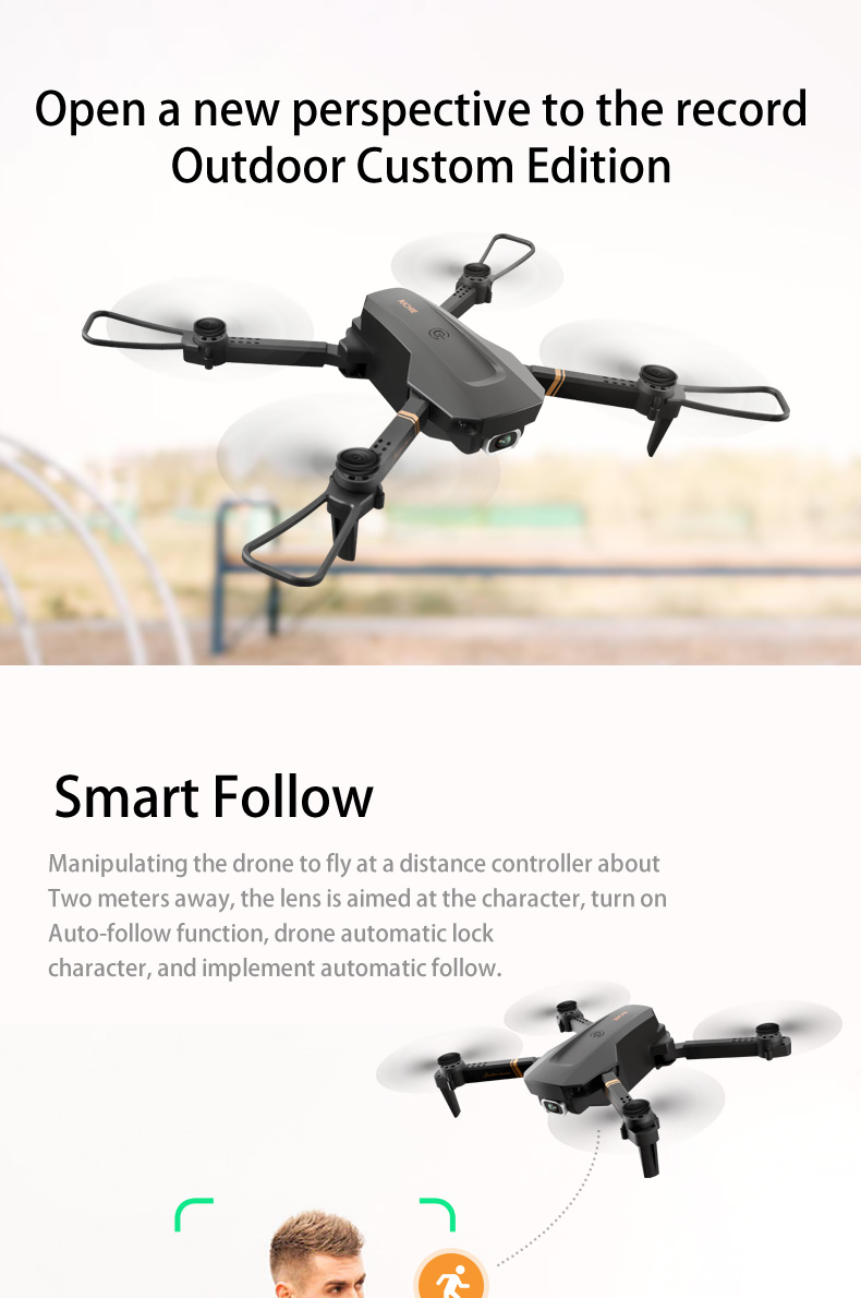 2020 NEW E59 Drone 1080P/4k HD with real-time streaming 9