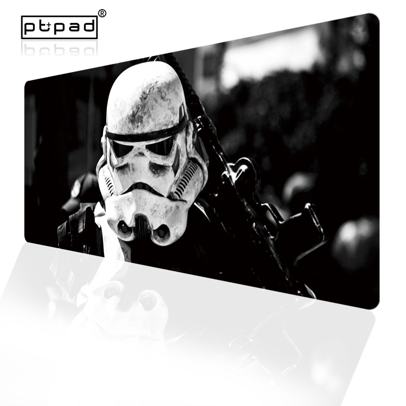 90x40 Star Wars Gamer Mouse Pad Computer Gaming <font><b>Mousepad</b></font> <font><b>Large</b></font> XXL Rubber Desk Keyboard Mouse Mat XL Locking Edge For CS GO image