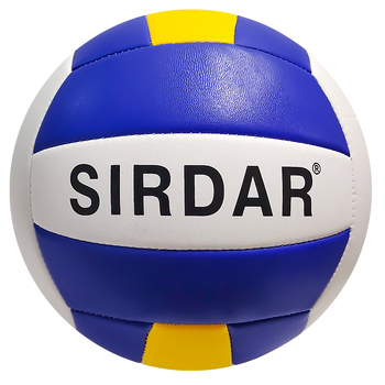 SIRDAR Volleyball Pu Custom Print Logo Volleyball Voleibol Top Quality Soft Customize Ball Style Time Pack Touch Color image