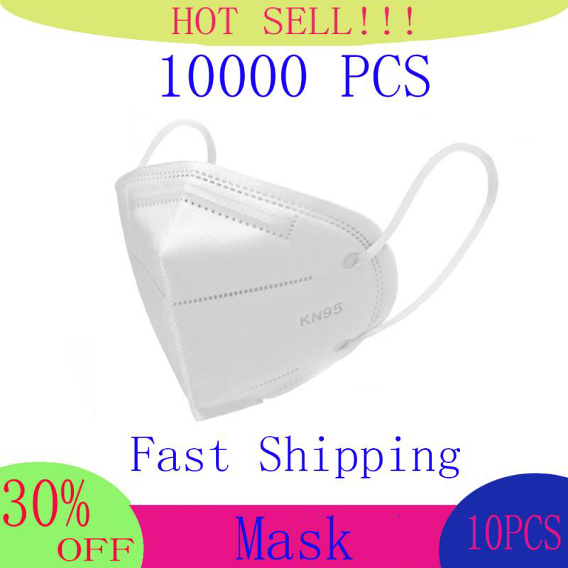 Fast Shipping 6 Layers Mask Bacteria Proof Anti Infection Face Masks Particulate Mouth Respirator Anti PM2.5 Safety Dust Mask