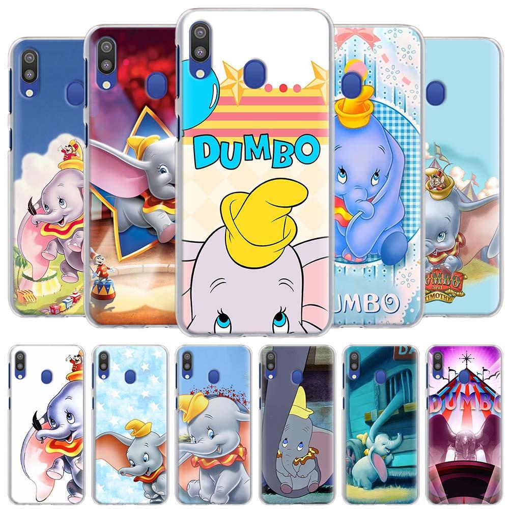 Cartoon Dumbo Elephant Phone Cases For Samsung Galaxy A10 A20 A30 A40 A50 A70 A51 A71 5G A11 A21 A31 A91 Hard Cover