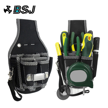 9 in 1 Screwdriver Utility Kit Holder Top Quality 600D Nylon Fabric Tool Bag Electrician Waist Pocket Tool Belt Pouch Bag цена 2017