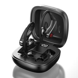 TWS Drahtlose Bluetooth Kopfhörer B10 Led-anzeige Kopfhörer Stereo Ohrhörer Wasserdichte Noise Cancelling Headset Mit Mic