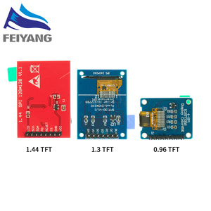 Image 4 - 10PCS TFT Display 0.96/1.3 inch IPS 7P SPI HD 65K Full Color LCD Module ST7735 Drive IC 80*160 (Not OLED) For Arduino