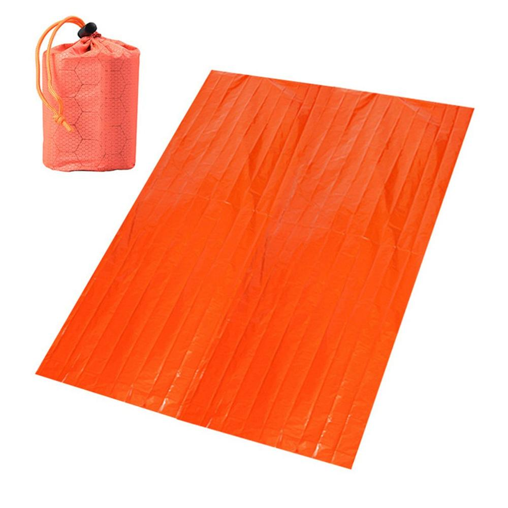 Portable Aluminum Film Emergency Blanket Wilderness Survival Survival Blanket Thermal Insulation Blanket