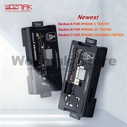Qianli fabricação mainboard quadro de testes em camadas para iphone x xs max nível médio função placa lógica de freqüência de rádio isocket