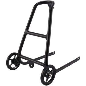 Алюминиевый сплав Q Тип велосипедная задняя стойка для Brompton с легкими колесами держатель для велосипеда багажная полка Аксессуары для вело...