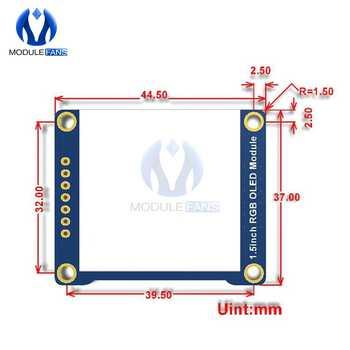 """1.5inch 1.5\"""" RGB OLED Screen Display Module 128X128 SSD1351 SPI I2C IIC for Arduino Raspberry Pi STM32"""