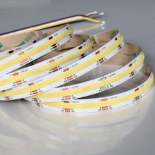 24V CCT COB LED Flexible Strip Light, non-waterproof, 5Meter a roll / a lot