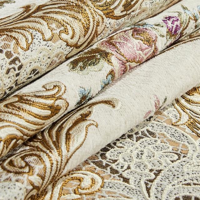 Retro chenille lace sofa cover 1 2