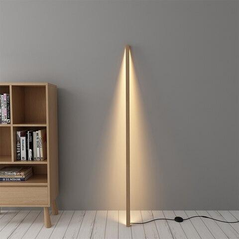 nordic minimalista lampadas de assoalho sala estar