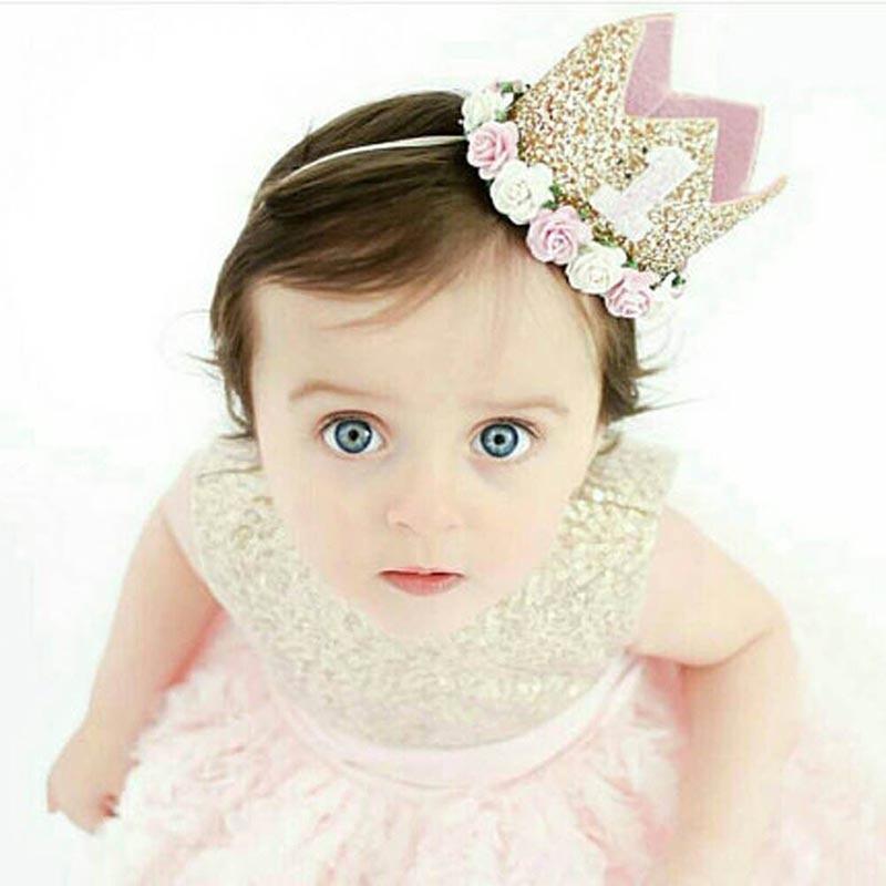 Newly-Baby-Birthday-Party-Hat-Children-Kids-Headband-Headwear-Boys-Girls-Priness-Flower-Crown-Hairband-MK (1)