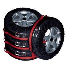 """4 шт. для 13-1"""" Tir Авто запасные шины колеса защитный чехол сумка для хранения"""