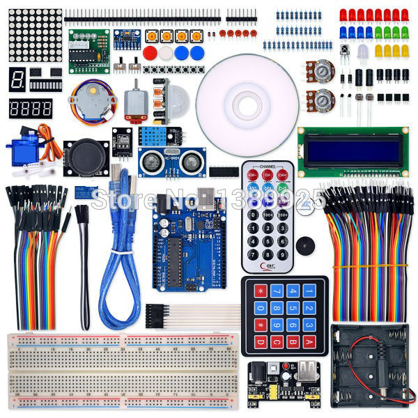 Ultimate Starter Learning Kit For R3 Board LCD1602 Servo Motor Process