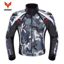 Duhan Camouflage Heren Motorjas Oxford Motocross Off Road Racing Jas Met 5 Protectors Moto Guards Moto Jas