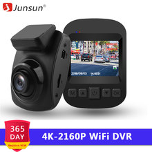 Junsun S66 WiFi Auto DVR 4K 2160P Ultra HD Recorder Dash Cam Dashcam Parkplatz Monitor Nachtsicht NTK 96660 Video Überwachung(China)