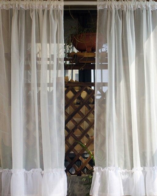 Dekorative Vorhänge Moderne Mode Küche Vorhang Handgemachte Cafe Spitze  Fenster Valance für Home Dekoration Zimmer