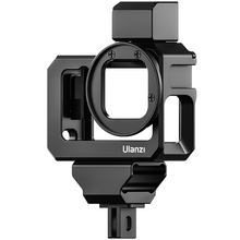 Ulanzi G9 5 Metal Cage Case for Gopro 9 Protective Housing Frame with 52MM Filter Adapter Gopro Vlog Accessories