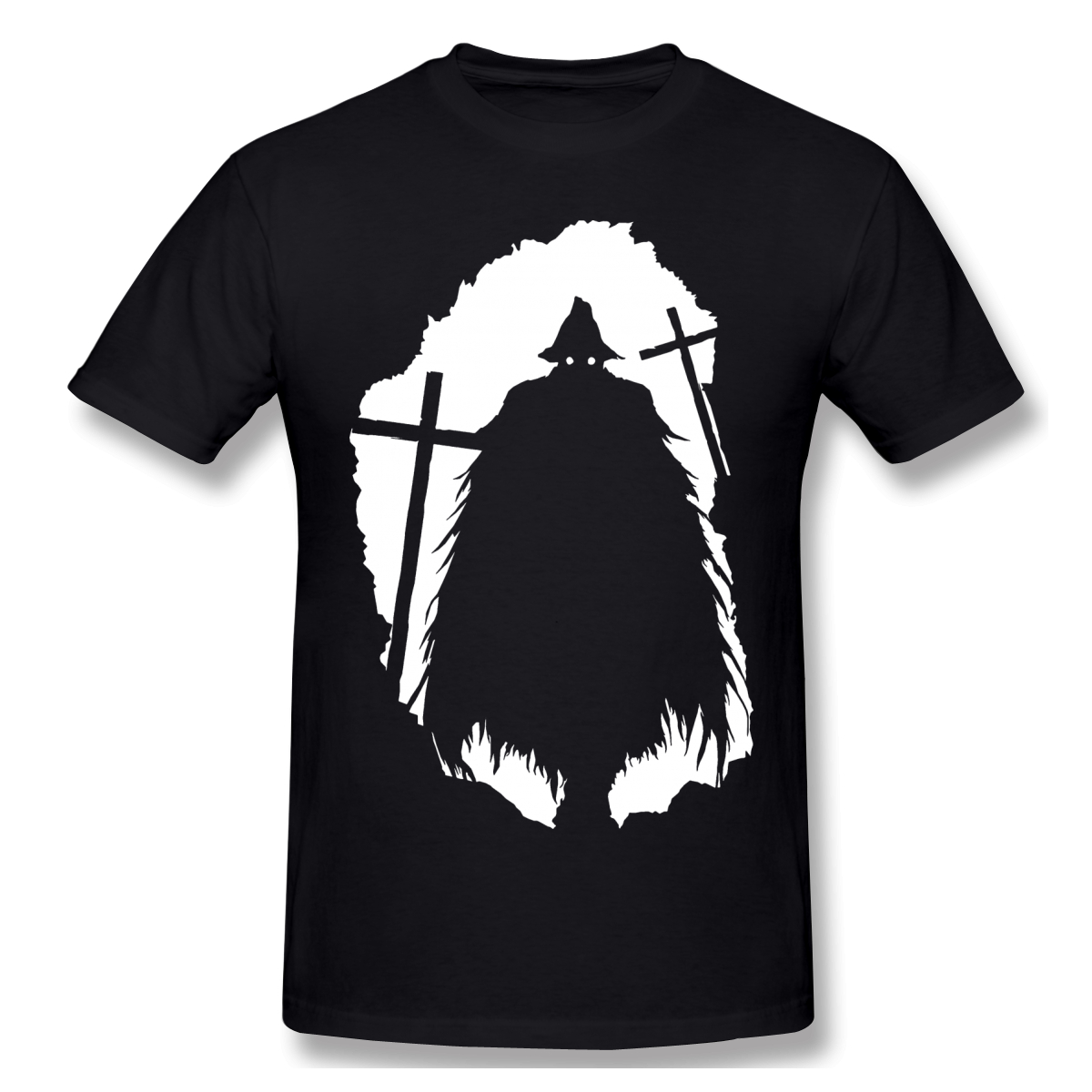 Eileen The Crow T Shirts Summer Cotton Bloodborne ARPG games T-Shirt Hipster ofertas Casual Tshirt image