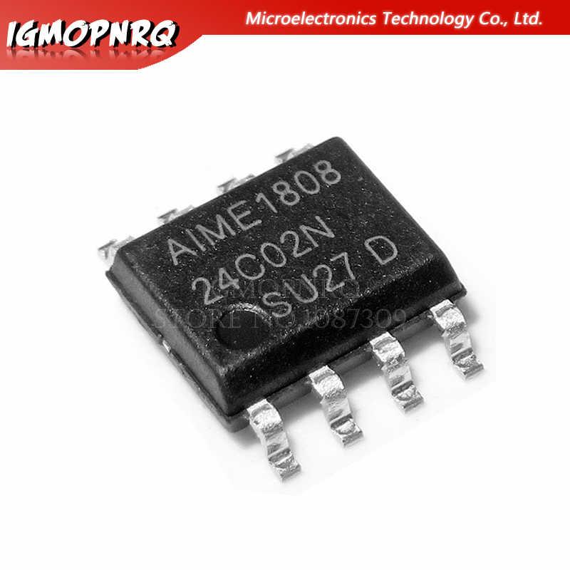 10 PCS AT24C02C-PUM DIP-8 AT24C02 24C02 02CM H AT24C02B-PU 2-Wire Serial EEPROM