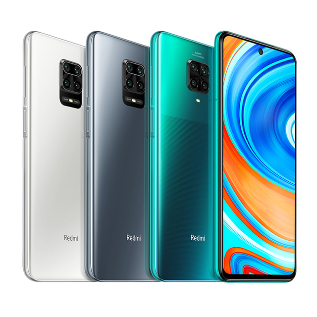 "Global Version Xiaomi Redmi Note 9 Pro 6GB 128GB NFC Smartphone 6.67"" Snapdragon 720 64MP Four Cameras 5020mAh 33W Fast Charger"