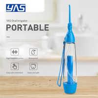 Oral Irrigator Zähne Reiniger Wasser Jet Zahn Gesundheit Wasser Nicht-elektrische Haushalts Tragbare Oral Irrigator Zahnseide LV160 YAS Neue