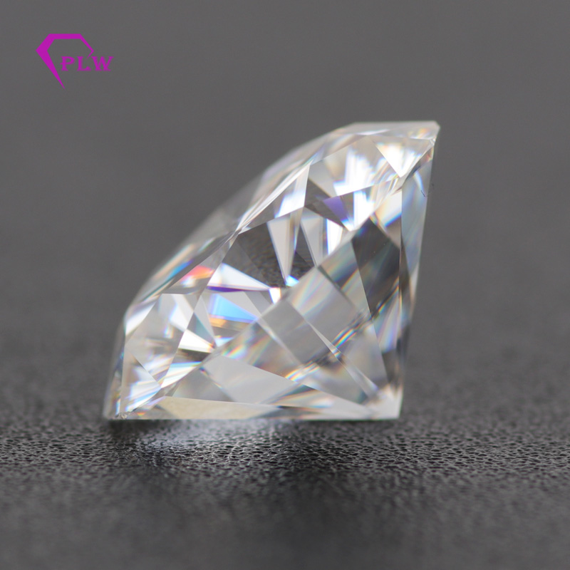 11mm 5carat EF color moissanite VVS1 brilliant cut lab moissanite tester positive for women jewelry in Loose Diamonds Gemstones from Jewelry Accessories