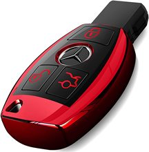 For Mercedes Benz Key Fob Cover Soft TPU C E G S M GL CLS CLK Class Keyless Smart Case