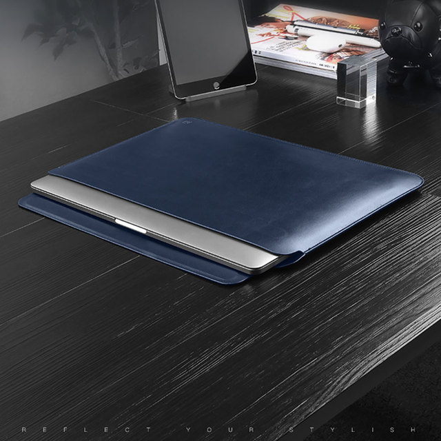 Newest Laptop Sleeve Case for MacBook Pro 13 A2159 A1989 A2289 PU Leather Laptop Carry Sleeve for MacBook Pro 16 Case A2141