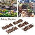 5 шт. безвредные пластиковые защитные шипы для птиц  шипы для диких кошек  шипы для забора  безопасные для двора  шипы для птиц  забор