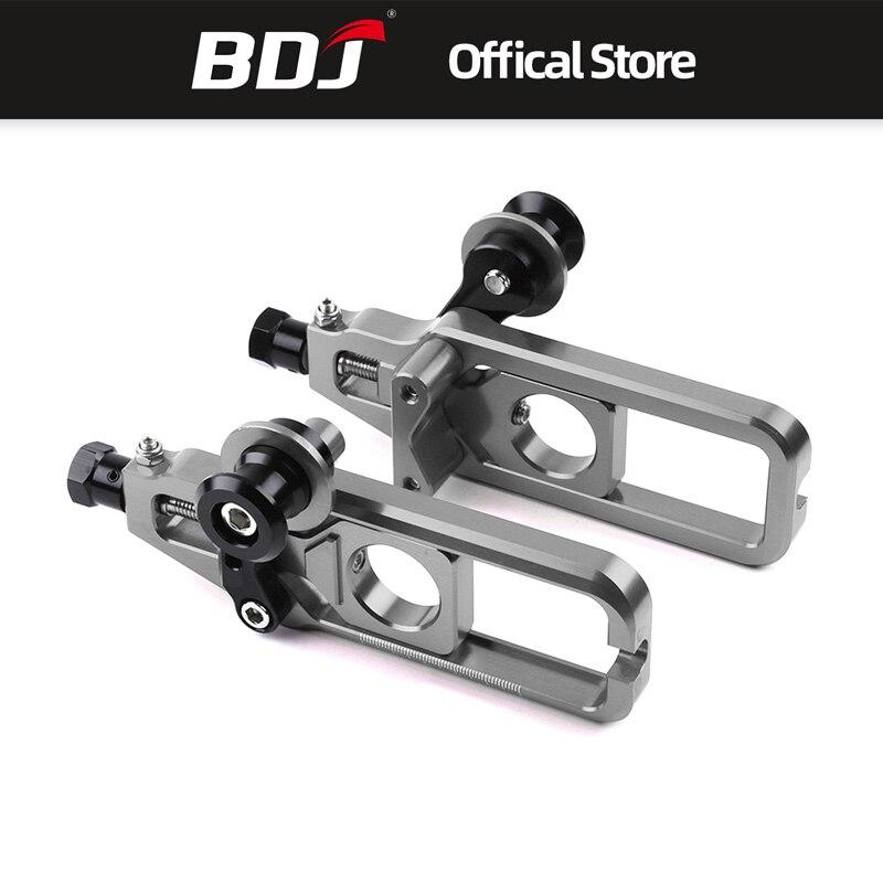 BDJ pour Yamaha YZF R1 MT10 accessoires de Moto ajusteurs de chaîne de Moto tendeur de bobine ajusteur d'essieu arrière