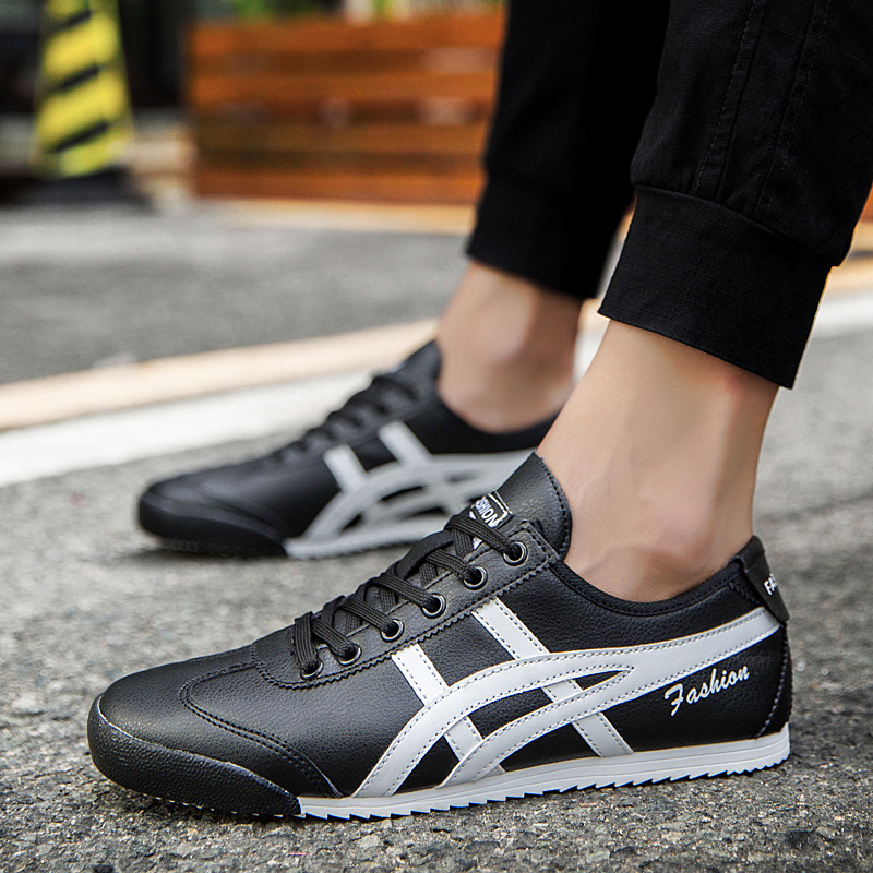 New Onitsuka Arkham Shoes Men's Shoes Women's Shoes Trend Sports Casual Running Shoes Red Blue Black Gold Tiger Shoes