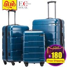 Набор чемоданов из 3 предметов, чемодан для путешествий, чемодан для путешествий, сумки для багажа на колесиках, чемодан для путешествий, сумки на колесиках