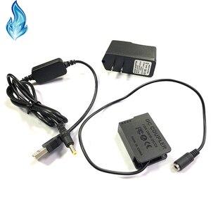 Image 3 - Banco do poder USB cabo + DMW DCC8 BLC12 BLC12E manequim bateria para Lumix DMC GX8 FZ2000 FZ300 FZ200 G7 G6 G5 G80 G81 G85 GH2 GH2K GH2S