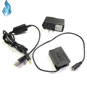 Image 3 - כוח בנק USB כבל + DMW DCC8 BLC12 BLC12E dummy סוללה עבור Lumix DMC GX8 FZ2000 FZ300 FZ200 G7 G6 G5 G80 g81 G85 GH2 GH2K GH2S