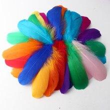 Floating Net-Making Natural-Crafts Wedding-Decoration14-20c Soft 50pcs Color Big Goose-Down