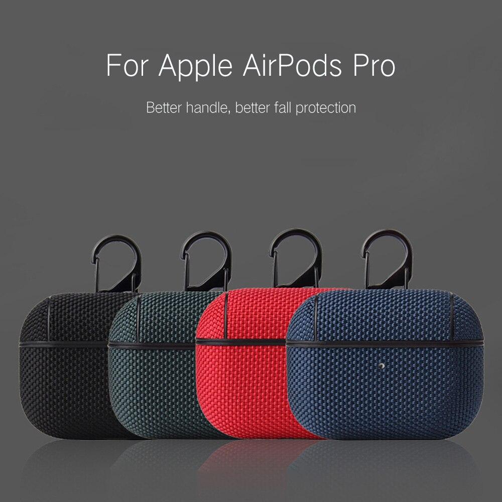 Housses pour en Nylon Apple Airpods pro housse de protection pour écouteurs sans fil Bluetooth pour Apple Air Pods sac de chargement pour Airpods 3
