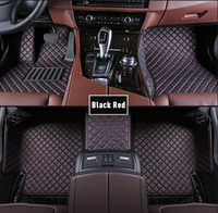 Custom Car Floor Mats For mercedes ml w164 W163 w166 ML63 ML300 ML320 ML350 ML400 ML450 Car Leather Carpet accessories Floor Mat