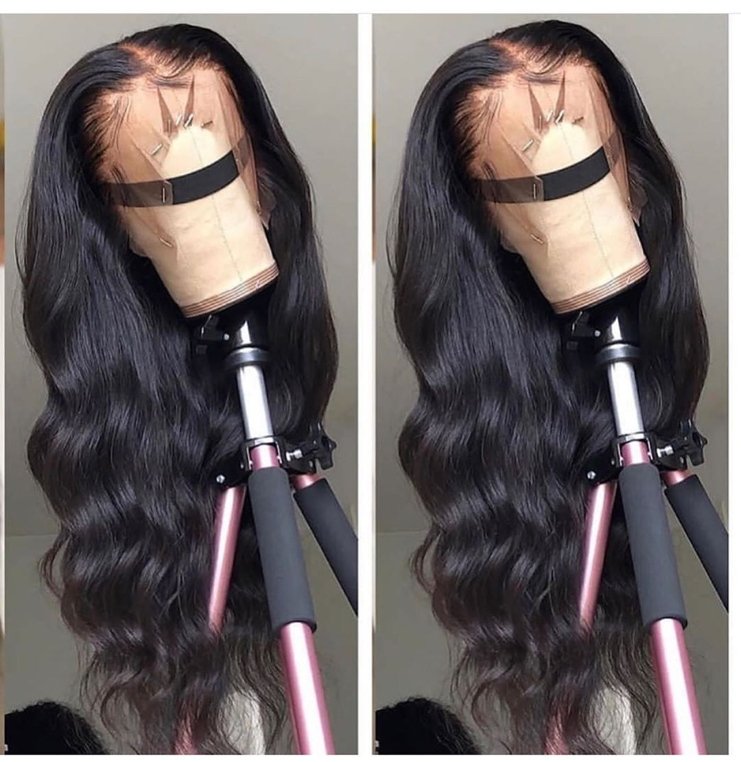 Onecut Hair Wavy lace front human hair wigs for black women brazilian Body Wave long wig preplucked with baby hair 13x6