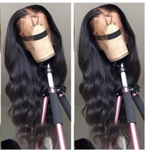 Onecut Hair Wavy lace front human hair wigs for black women brazilian Body Wave long wig preplucked with baby 13x6