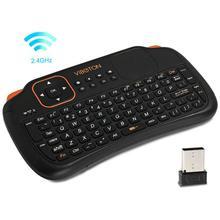 2,4 ГГц Беспроводная клавиатура Мини игровые клавиатуры для ПК/Pad/Andriod/Google tv Box механическая клавиатура для xbox 360 аксессуары