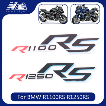 For BMW R1100RS R1250RS Motorcycle 3D Waterproof Sticker Body Shell Decal Tank Pad Protector Fairing Emblem Badge Accessories image