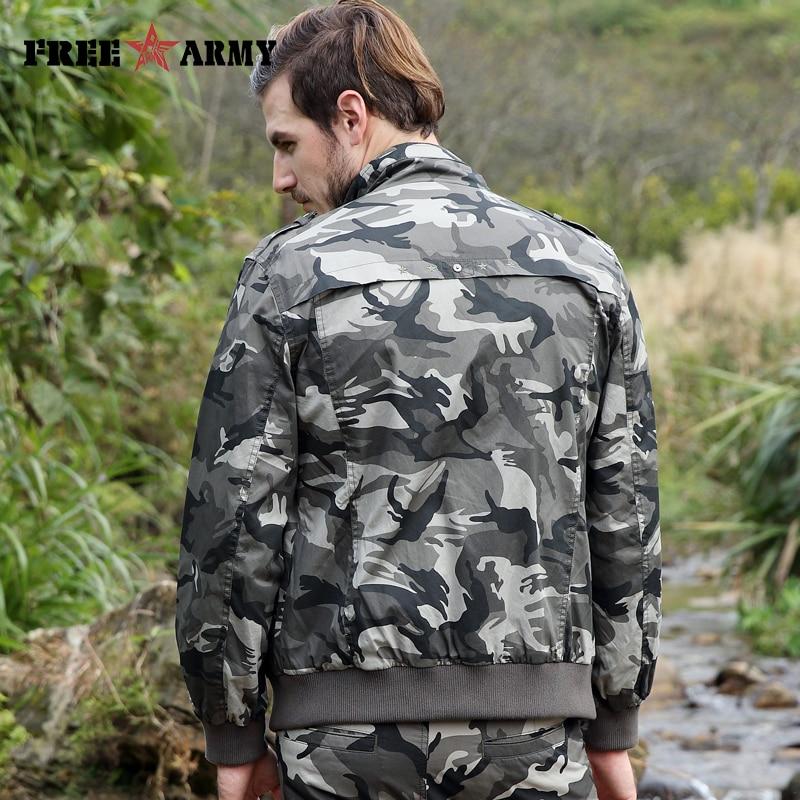 FREIE ARMEE Neue Männer Jacke Jean Military Plus 4XL Grün Baumwolle - Herrenbekleidung - Foto 4
