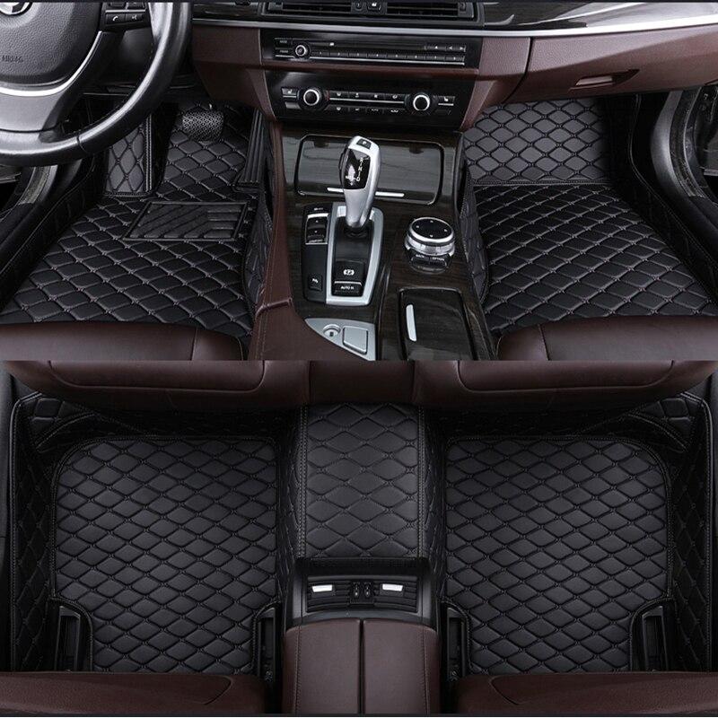 Коврик автомобильный под заказ для bmw 5 Series F10 F11 E60 520i 525i 528i530E 530i 535d 535i 540i 550i xDrive 5er Touring