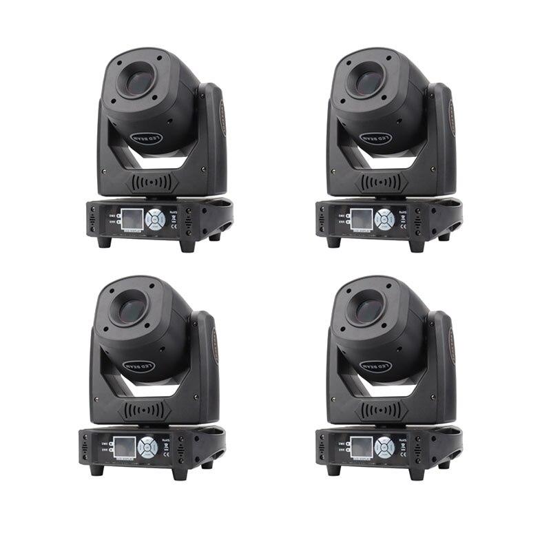 4pcs/lot bright led 100w beam gobo moving head spot light led stage lighting wedding dj Stage Lighting Effect     - title=