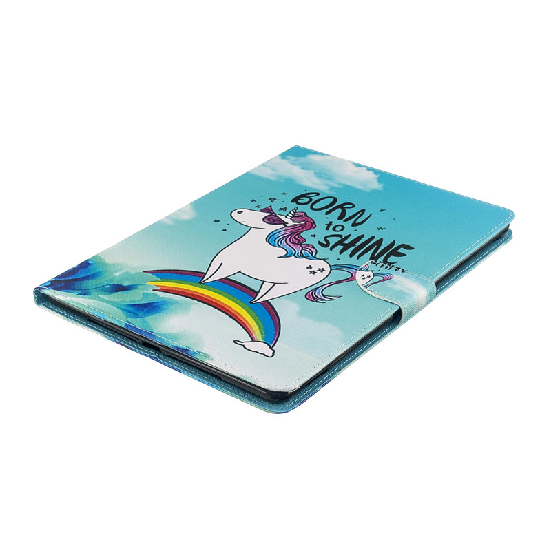 2019 Magnetic for For Unicorn Pro 2017 Air Case 5 Tablet Cover Apple 3 10 iPad Cute Cat