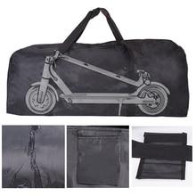 Portátil saco de transporte acessório para xiaomi mijia m365 scooter elétrico bicicleta dobrável skate 110*45*50cm à prova chuva