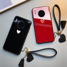3d diy soft silicone case for vivo nex a case coque for vivo nex a cover flamingo painted case back cover for vivo nex a fundas For VIVO NEX 3 Z5 Z5X Z1 Pro Case Free strap Red Black Heart Hard Tempered Glass Cover For vivo NEX 3 s U3 U3X phone Casing