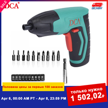 Tools-Set Screwdriver Dca Cordless Drill Accessories Power-Battery Twistable-Handle Rechargeable